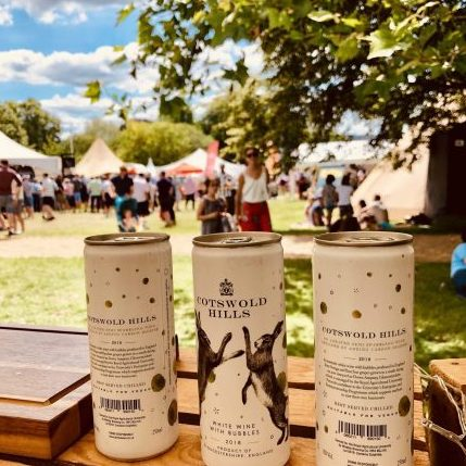 Cotswold Hills canned wine